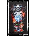 Queen of Darkness Bath towel