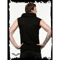Queen of Darkness Black Zip-Up Vest