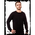 Queen of Darkness Heavy Black Knitted Sweater