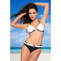 SAMEGAME Push-Up-Bikini (black-and-white)