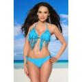 SAMEGAME Bikini mit Fransen (turquoise)