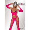 SARESIA Gogo-Overall & Stulpen (neonpink)