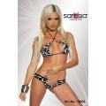 SARESIA Gogo-Bikini (black-and-white)