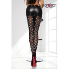 SARESIA Wetlook-Leggings (black)