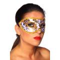 VARIOUS Maske (gold / white)