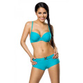 VARIOUS Push-Up-Bikini-Set (turquoise)