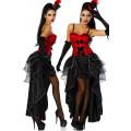 VARIOUS Cabarett-Kostüm (Red Black)