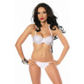 VARIOUS Push-Up Bikini (White)