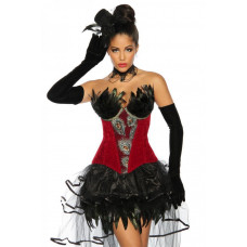 VARIOUS Burlesque-Corsage (red)