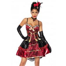 VARIOUS Red-Queen-Kostüm (Red Black)