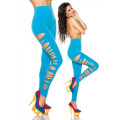 VARIOUS Leggings (blau)