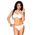 VARIOUS Push-Up-Bikini (White)