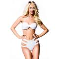 VARIOUS Bandeau-Bikini (White)