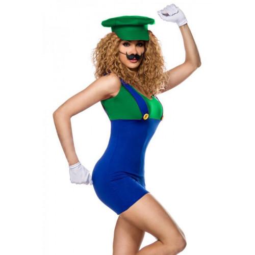 Halloween Costume 500.Luigi Kostume Super Mario Odyssey 2019 08 02