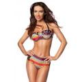 VARIOUS Push-Up-Bikini (colorful)