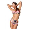 VARIOUS Push-up Bikini (pink / gemusert)