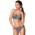 VARIOUS Push-up Bikini (blue / orange / green)