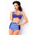 VARIOUS Retro-Bikini (blue White Red)